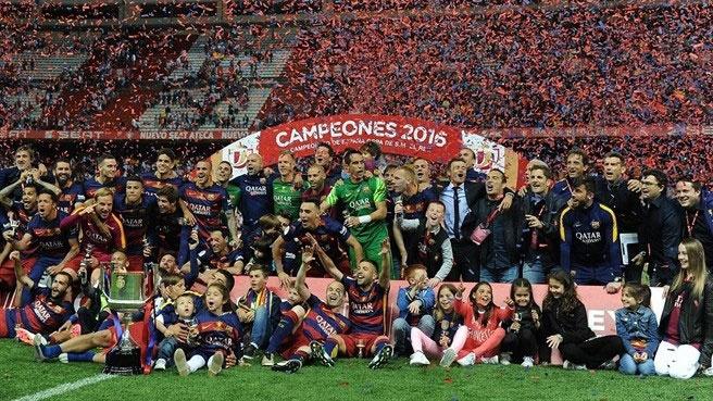 بارسلونا قهرمان جام حذفی اسپانیا شد