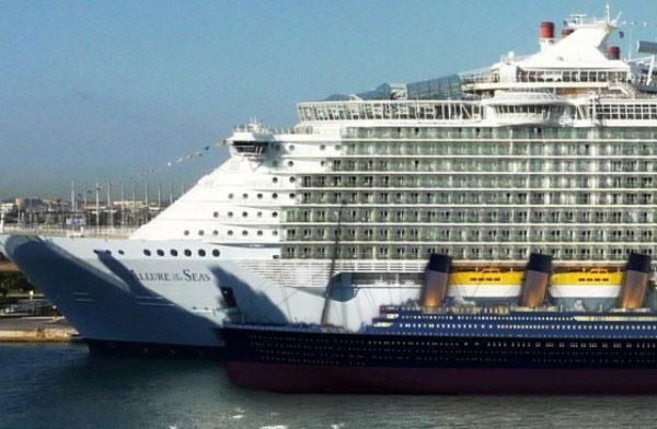 آغاز به کار بزرگترین کشتی تفریحی دنیا