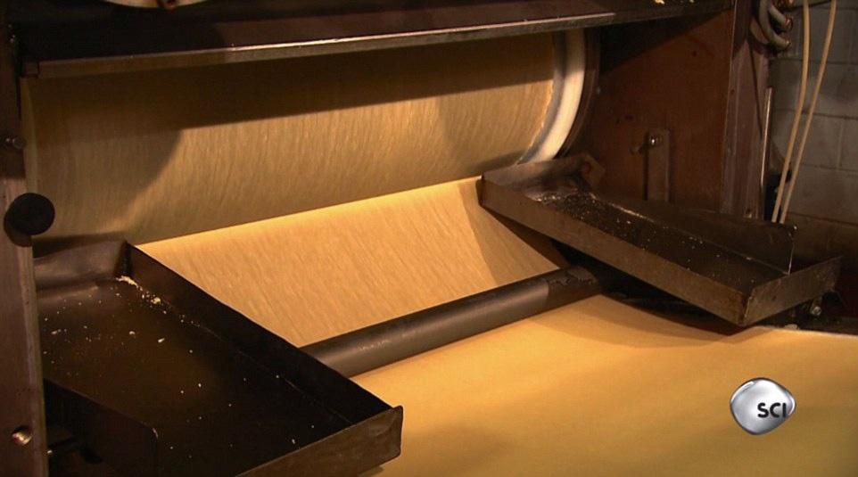 مراحل تولید یکی از مشهورترین چیپسهای جهان