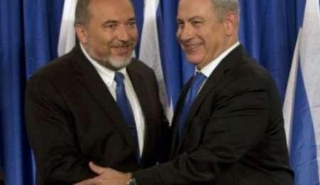توافق نتانیاهو و لیبرمن بر سر کابینه ائتلافی