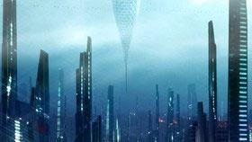 برجهای معلق در سال ۲۲۵۰