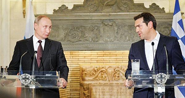 هشدارآخر پوتین به اروپا ازخاک یونان