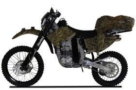 ساخت اولین موتورسیکلت کاملا بیصدا