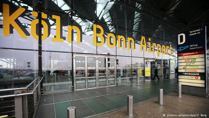 پروازهای فروگاه کلن آلمان به دلایل امنیتی متوقف شد