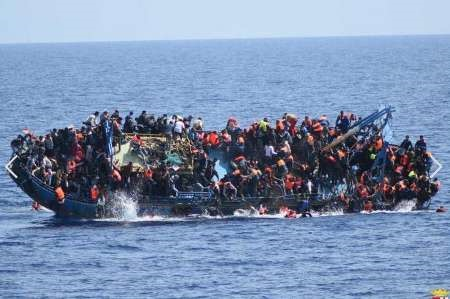 ۸۸۰ پناهجو در یک هفته در مدیترانه جان باختند