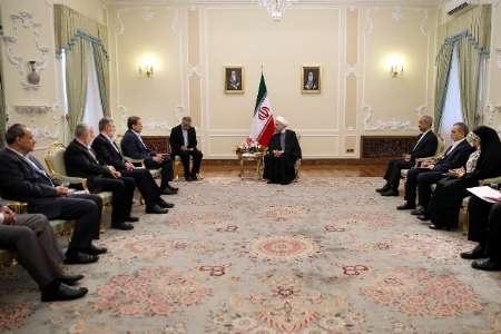 روحانی: ایران همواره حامی و پشتیبان ملت مظلوم فلسطین خواهد بود