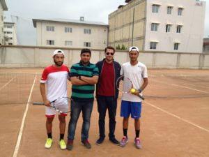 شهاب موسویان فاتح مسابقات تنیس آزاد گیلان شد