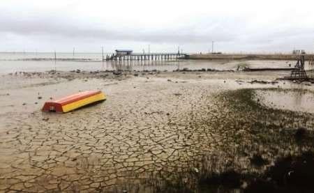 کاهش تراز آب خزر از ۲۰۰۶ تا کنون