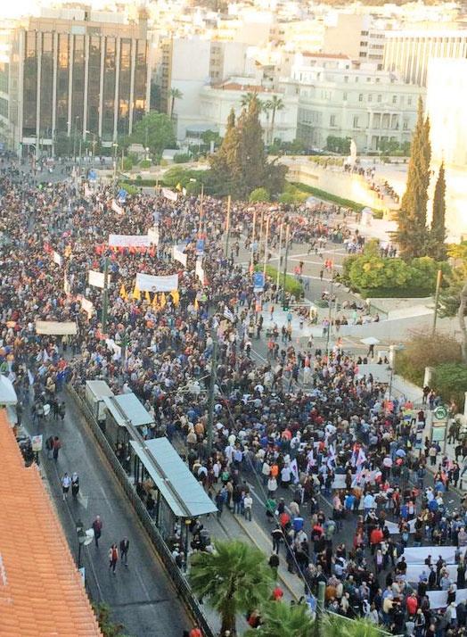 اعتراضهای گسترده و درگیری با نیروهای پلیس بود