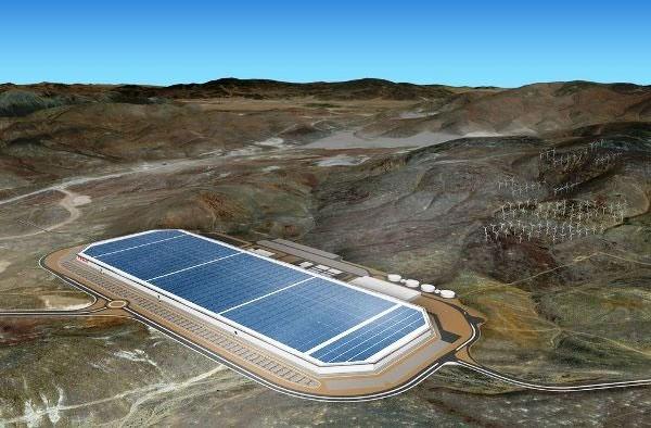 کارخانه باتریسازی به بزرگی ۱۰۰ زمین فوتبال ساخته شد