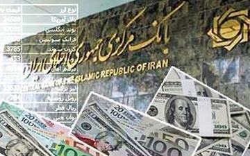 نرخ یورو، پوند و دلار بانکی افزایش یافت