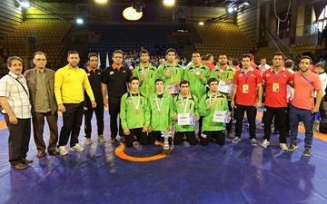 کشتی ناشنوایان جهان؛ نایب قهرمانی تیم کشتی فرنگی جوانان ایران