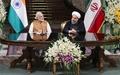 ایران و هند ۱۲ سند همکاری امضا کردند