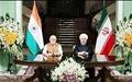 روحانی؛ زمینههای گسترش روابط اقتصادی با هند فراهم شده است
