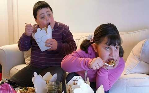 شیوع چاقی در بین کودکان اروپایی