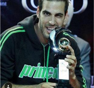 شاهین خالدان قهرمان تنیس جام رمضان شد/ قهرمانی زوج کروات در بخش دو نفره
