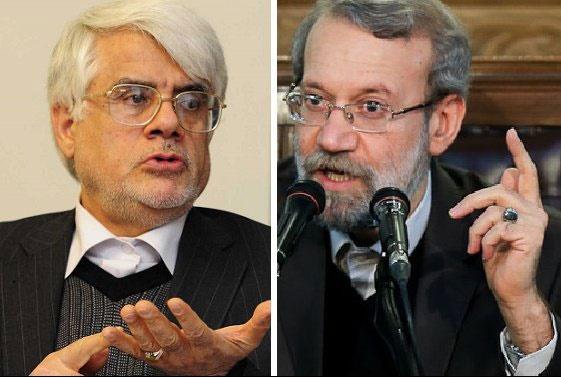 عارف از اعضای فراکسیون امید خواست به لاریجانی رأی دهند