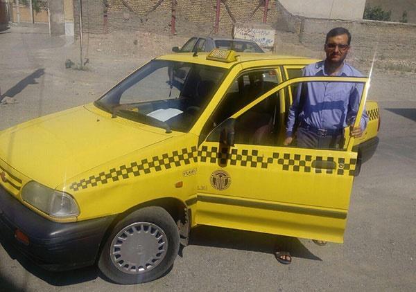 راننده تاکسی؛ امانتدار کیف ۲۰۰ میلیونی
