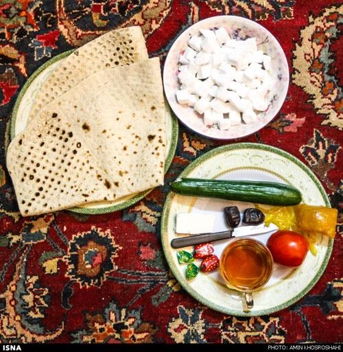 یک رژیم غذایی صحیح در ماه رمضان