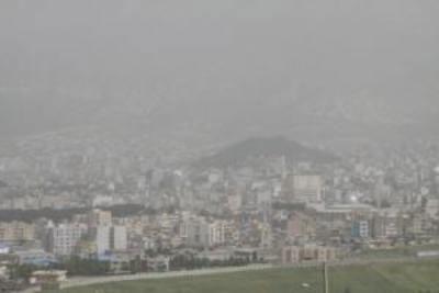 هوای استان ایلام در وضعیت هشدار قرار گرفت