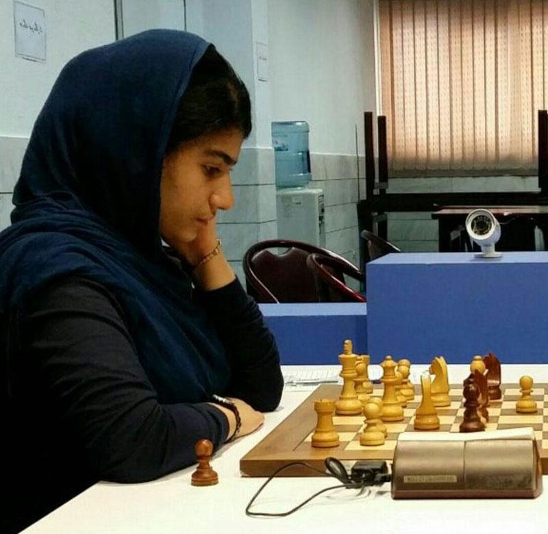 آناهیتا زاهدیفر نماینده بانوی ایران در المپیاد جهانی شطرنج زیر ۱۶ سال شد