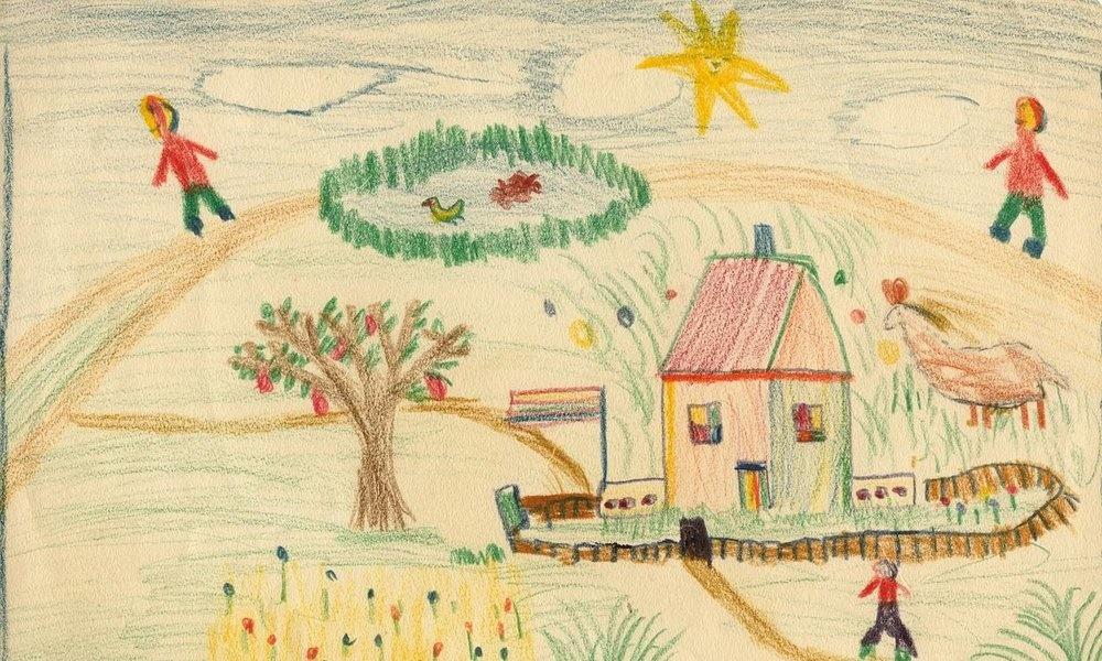 نمایش نقاشیهای دوران کودکی لوسین فروید