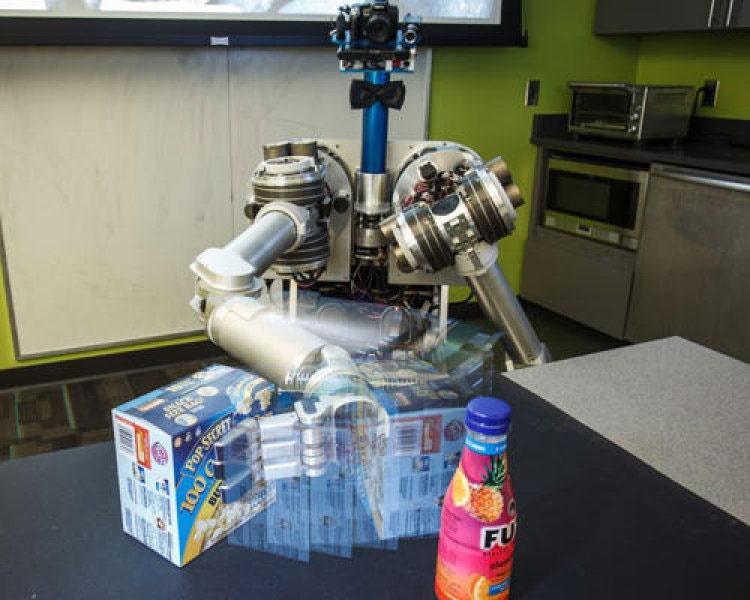 ساخت روبات باربری که از پس هر جسمی برمیآید