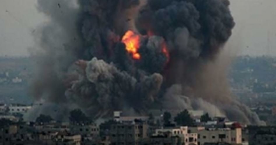حمله موشکی جنگندههای صهیونیستی به شرق غزه