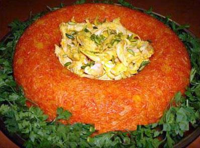 آشنایی با روش تهیه استامبولی پلوی قالبی برای افطاری