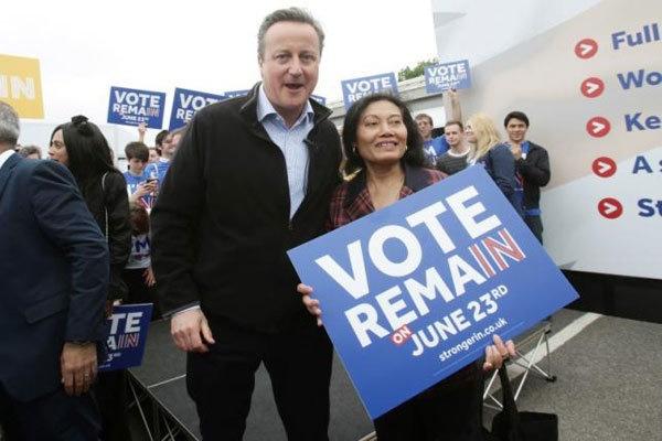 آخرین نظرسنجی ها در انگلیس   حامیان اتحادیه اروپا از جدایی طلبان پیشی گرفتند