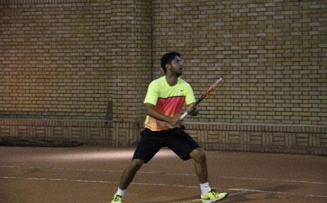البرز اخوان قهرمان مسابقات تنیس جام رمضان شد