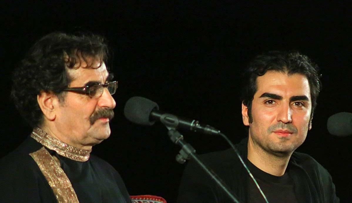 کنسرت شهرام و حافظ ناظری در فضای باز برج میلاد