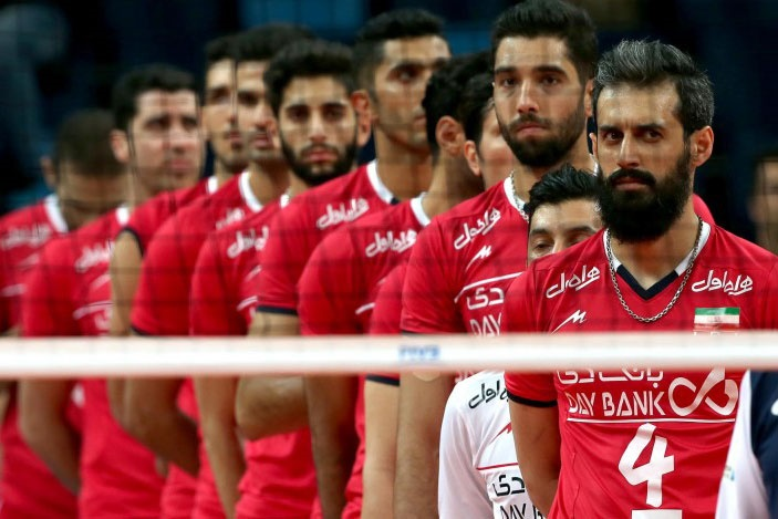 Iran Footvolley Team