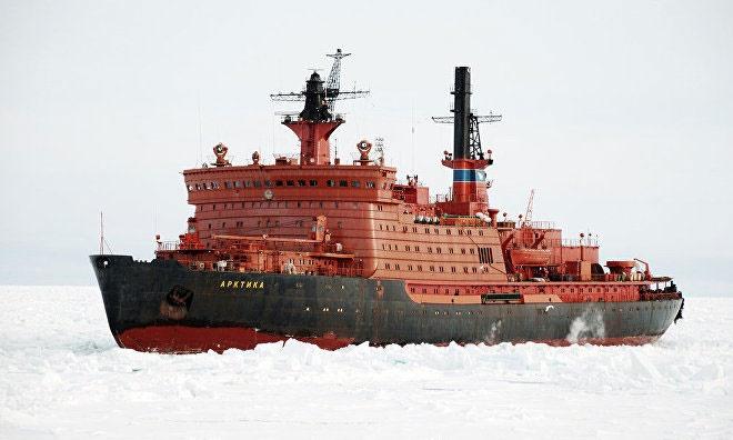 رونمایی از بزرگترین کشتی یخشکن جهان
