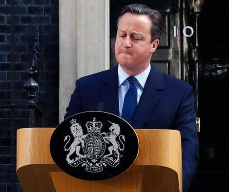 نخستین قربانی همهپرسی بریتانیا | کامرون استعفا داد