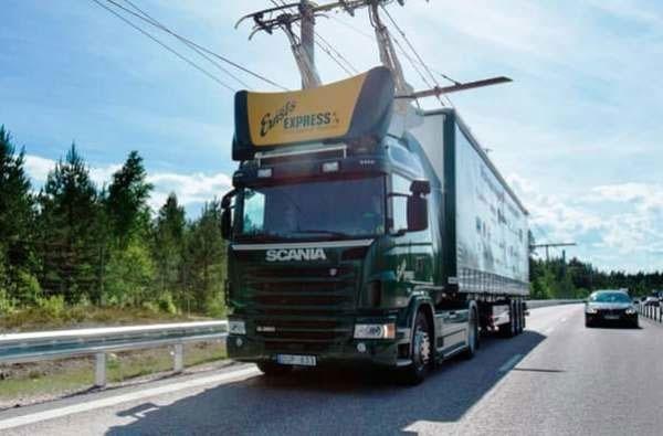 راهاندازی بزرگراه برقی در سوئد