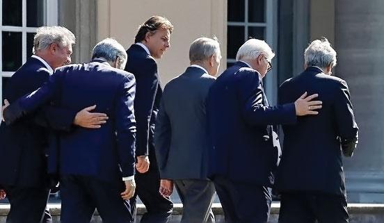 سران اروپا نشست اضطراری برگزارکردند