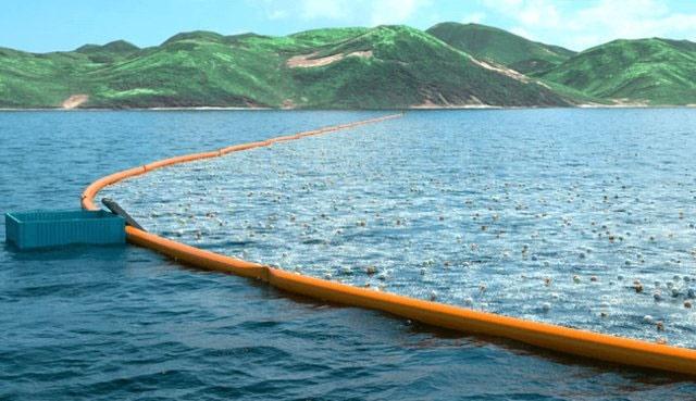 ساخت اولین دستگاه پاکسازی اقیانوسها از زباله