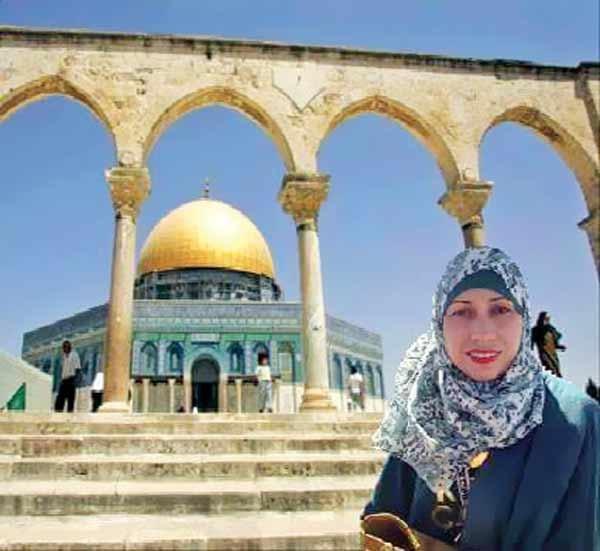 خانم تمار احداد روزنامه نگار فلسطینی