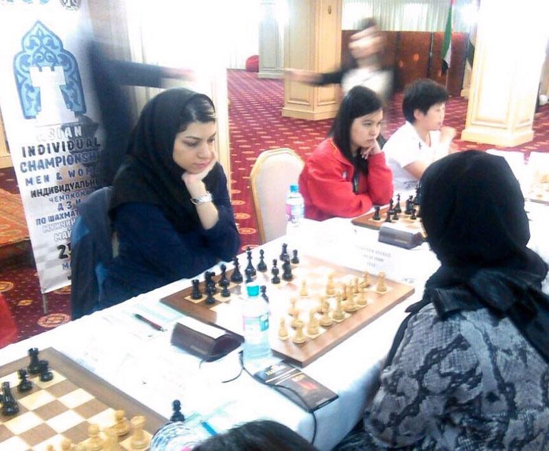 آتوسا پورکاشیان به مدال برنز رقابتهای شطرنج برق آسای آسیا دست پیدا کرد