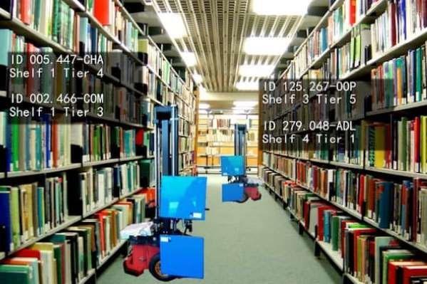 روبات کتابدار ساخته شد