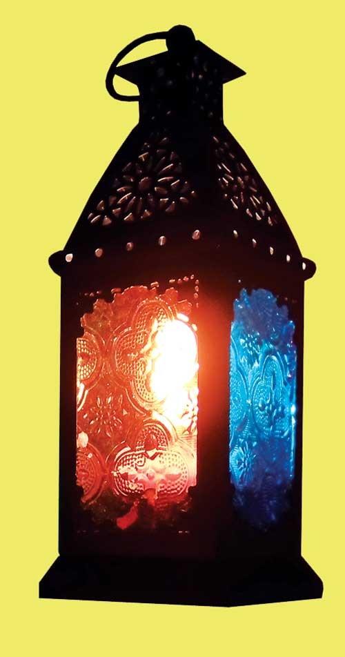 فانوس رمضان کجا روشن است؟