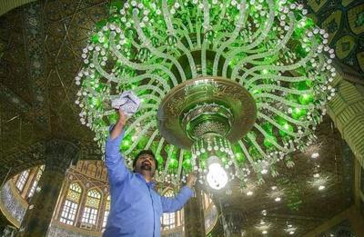 گزارش تصویری | غبارروبی مسجد جمکران