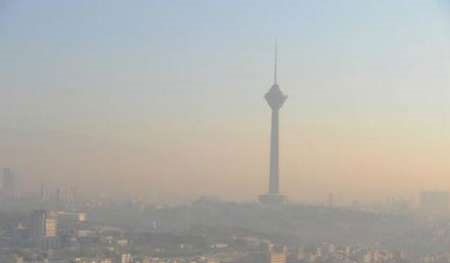 افزایش ۲۵ عددی آلودگی هوای تهران