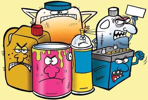 خطر در سطل زباله
