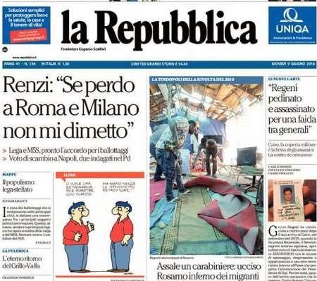 ۲۰ خرداد | تیترهای روزنامههای ایتالیا در یک نگاه