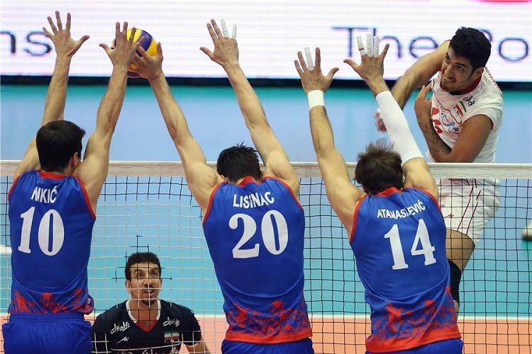 ایران ۳ - صربستان ۲ |  شکست بیشکستها در برابر ایران