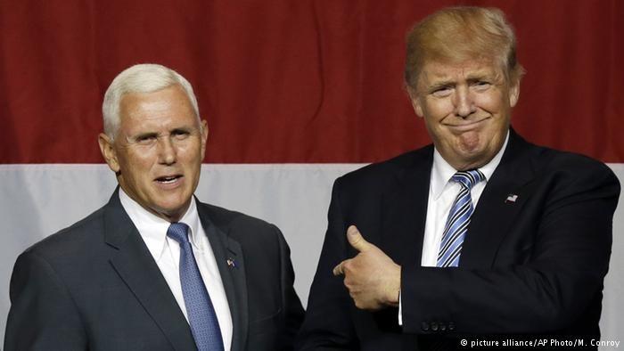 ترامپ معاون خود را برای انتخابات ریاستجمهوری تعیین کرد