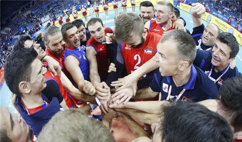 برزیل و صربستان در فینال لیگ جهانی والیبال