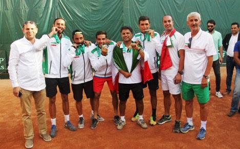 تنیس ایران با شایستگی به گروه ۲ آسیا و اقیانوسیه صعود کرد